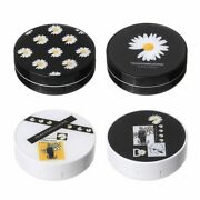 Daisy Storage Container Contact Lens Case With Mirror Eyes Contact Lenses Box