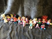 Vintage Cabbage Patch Kid Figurines Lot Of Sixteen