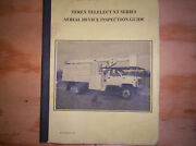 Terex Telelect Xt Series Aerial Device Inspection Guide , Forestry Bucket Truck