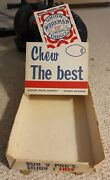 Vintage Union Workman Chewing Tobacco Store Display Box Rare