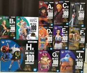 One Piece Ichiban Kuji Vol.100 Anniversary Complete Set Promotional Material