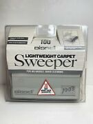 Vintage Bissel 100 B Lightweight Carpet Cleaner Push Sweeper Manual Non-electric