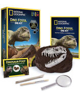 National Geographic Dino Fossil Dig Kit Stem Brand New