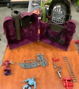 Vintage 1983 Mattel Masters Of The Universe Snake Mountain Playset Incomplete
