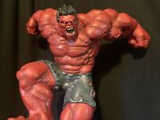 Sideshow Maquette Red Hulk Statue