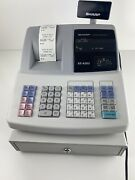Sharp Xe-a203 Electronic Cash Register W/ All Keys Cant Get Key To Work In Drawe