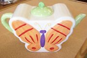 2003 Butterfly By Ellen Krans Porcelain Figurine Cookie Jar For Coynes And Company
