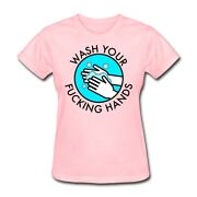 Spreadshirt Wash Your Hands Womenand039s T-shirt