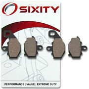 Sixity Ceramic Brake Pads Fa192 Fa192 Front + Rear Replacement Kit Full Qx