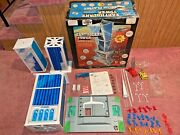 Huge Vintage 1976 Remco Earthquake Tower Rescue Play Set