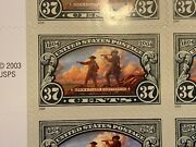 Lewis And Clark Bicentennial Usps 0.37 Cent Stamps Full Sheet Of 20 Unused
