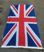 Post Ww2 British Army Union Jack Flag - Field Marshal Commander In Chief - Look
