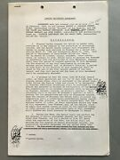 Captain Beefheart Magic Band Fully Signed Contract And 2 Addendaandnbsp Krasnow 1968 Top