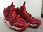 Nike Air Max Pippen 1 Noble Red 2013 Basketball Shoes Men's Size 12 325001-600
