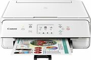 Canon Pixma Ts6020 Wireless All-in-one Inkjet Printer - White Used