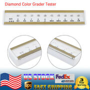 Gia Master Set 10ct Diamond Grading Color Tester D-m Color Reference Tool White