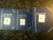 Used Coin Books 20 Whitman Folders -- Calculate In Your Bid 10.00 Shipping