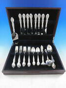 Melrose By Gorham Sterling Silver Flatware Set For 8 Service 39 Pieces
