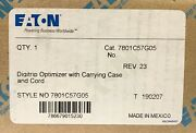 Eaton Digitrip Optimizer With Case And Cord Trip Unit Programmer 7801c57g05