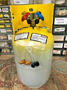 Refrigerant Recovery Tank, Manchester, 30 Lb. Fresh Date Code, Good For 410/134a