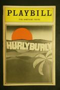Jerry Stiller Susan Anton Cast Hand Signed Autographed Playbill Hurly Burly