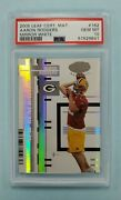 2005 Leaf Certified Aaron Rodgers Mirror White Rookie Rc 162 Card /150 Psa 10