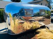 1963 Airstream Globetrotter Open Concept Mirror Finish