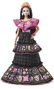 New In Hand Ready To Ship Barbie Dia De Los Muertos Doll 2021 Day Of The Dead
