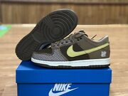 Nike Dunk Low Sp X Undefeated Canteen Dunk Size Us 5 Dh3061-200 Fast Ship