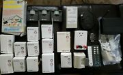 X10 Home Automation Lot 22 Pieces Universal Lamp Appliance Transceiver Modules