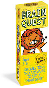 Brain Quest Kindergarten Qanda Cards 300 Questions And Answers To Get A Smart