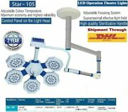 Led Operation Theater Lights Star 105 Surgical High Quality Sterilizable Handle