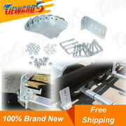 Boat Trailer Bunk Bracket Kit 8and039and039 L-type Galvanized For 3 X 3 Cross Member 8 Set