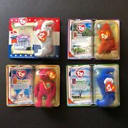 Rare Ty Mcdonald Teenie Baby Collection Series Lot Of 4