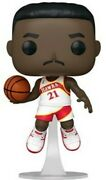 Funko Pop Nba Legends- Dominique Wilkins Hawks Home [used Very Good Toy] V