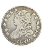 1820 Bust Quarter B-3 Variety Very Fine Grade. A Great Coin