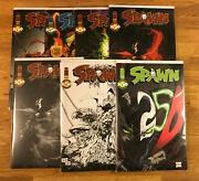 Spawn 250 7 Covers Lot