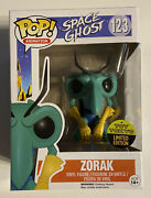 Funko Pop Space Ghost Zorak 123 Toy Tokyo Limited Edition Sdcc 2016 In Protector