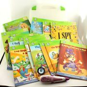 Leapfrog Tag Reader And 17 Leap Frog Books Learning Early Reader And Case
