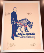 At The Drive-in Mars Volta Art Print Poster Signed And Autographed Collectible