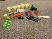 Large Lot Of Tupperware 50 Items- Juicermagnets Funnels Spice Shakers More