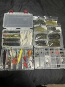 Fishing Lure Lot Crank Bait Terminal Tackle Lucky Craft Bass Boxes Included