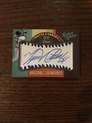 2019 Leather And Lumber Miguel Cabrera Baseball Signatures Auto D 6/9 500 Hr Club
