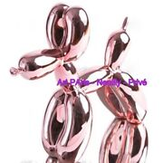 Jeff Koons After - Dog Silver Rose- Gold- Editions Studio - Mint With Coa