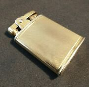 Antique 9ct Gold Fuel Lighter Circa 1930-40 - Does Not Strike And No Wick.