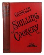 1890 Antique Cookbook Vintage Cookery Victorian Recipes Pastry Confectionery Old