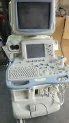 Ge Logiq 9 Ultrasound As Is With 3 Probes