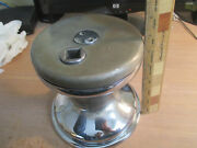 Nevins Winch Chrome Bronze Big Very Good Usable Old Vintage Maybe Barient