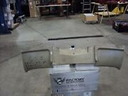 2 New Original Rear Exhaust Panels For 63 And 64 Corvette