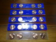 5 X 2009 Pandd Lincoln Bicentennial Cents From Us Mint Set 95 Copper-satin Finish